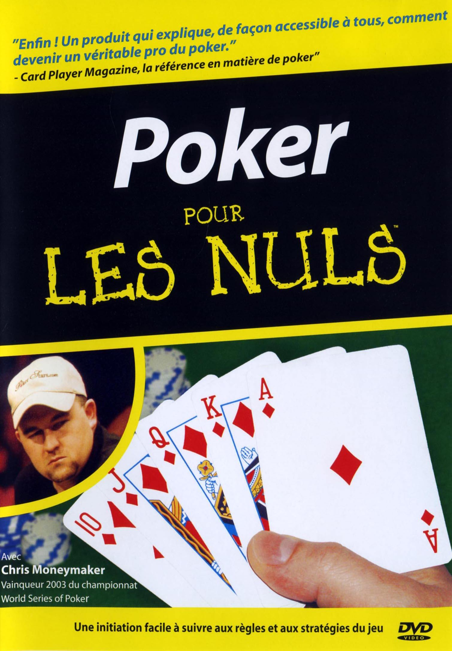 Le poker - dvd  pour les nuls