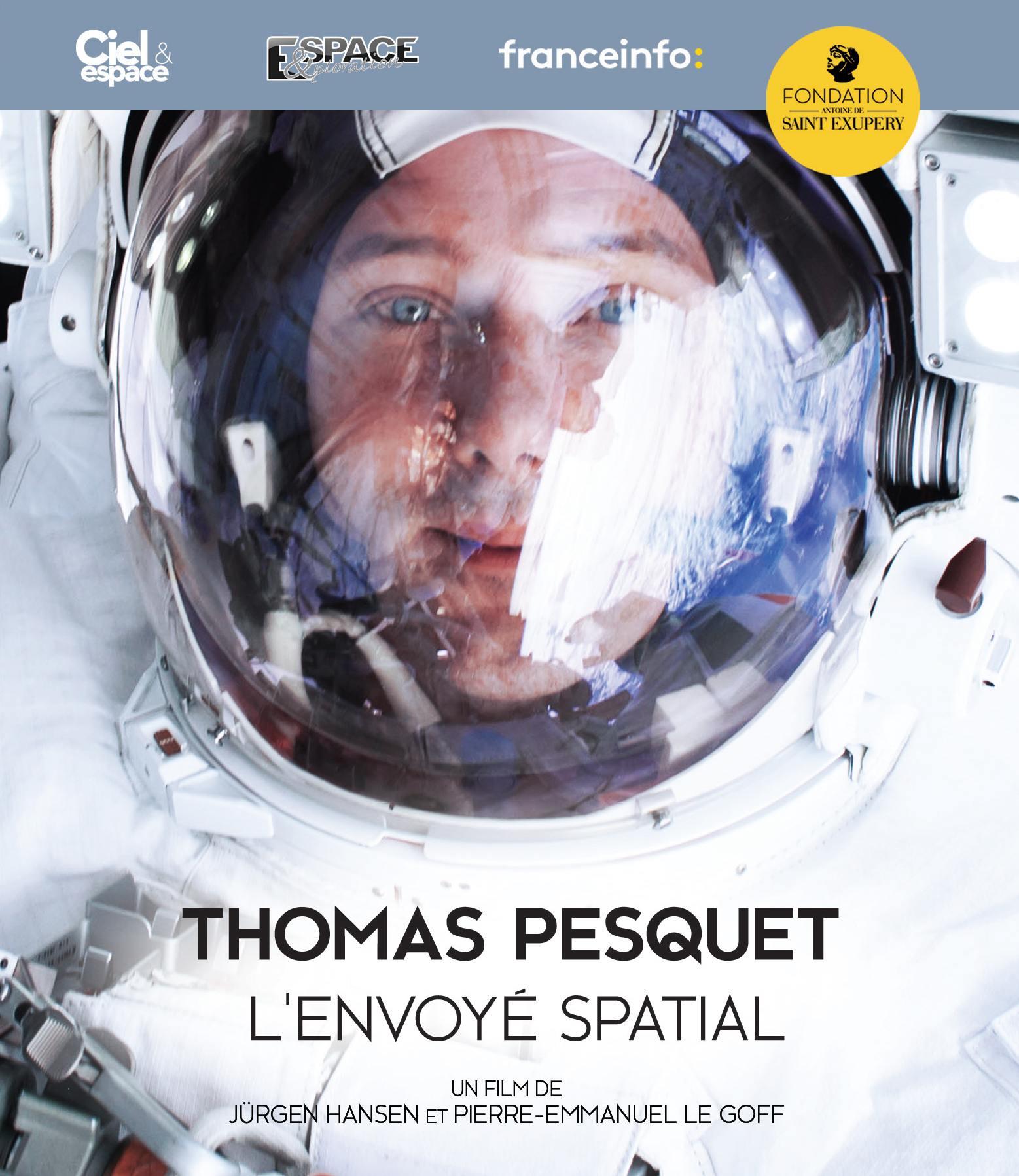 Thomas pesquet l'envoye spatial - blu-ray