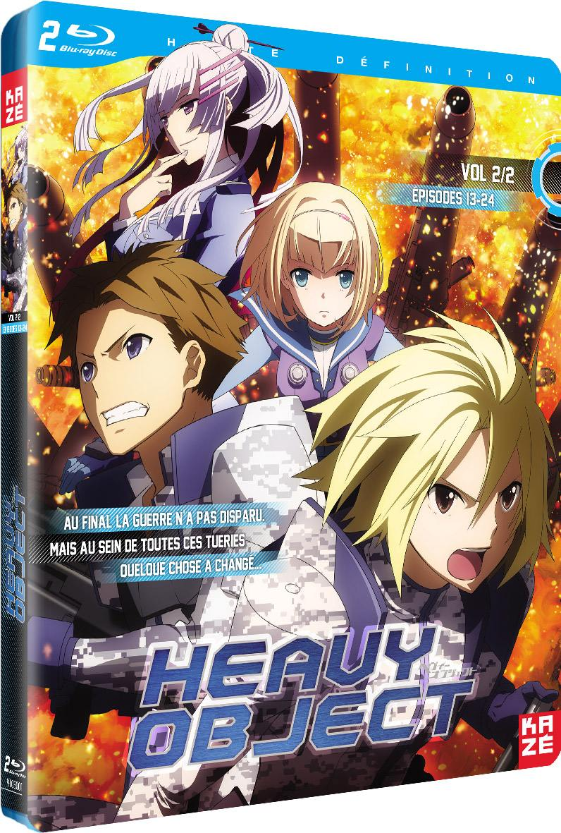 Heavy object - partie 2 sur 2 - 2 blu-ray