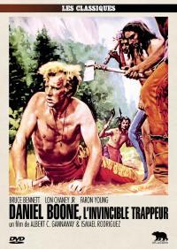 Daniel boone, l'invincible trappeur - dvd