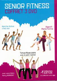 Senior fitness - coffret 3 dvd