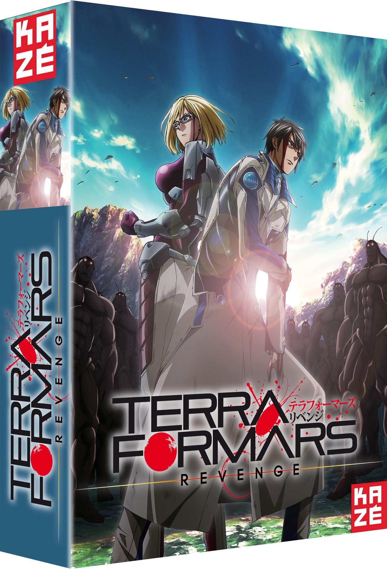 Terra formars revenge - saison 2 - 3 dvd