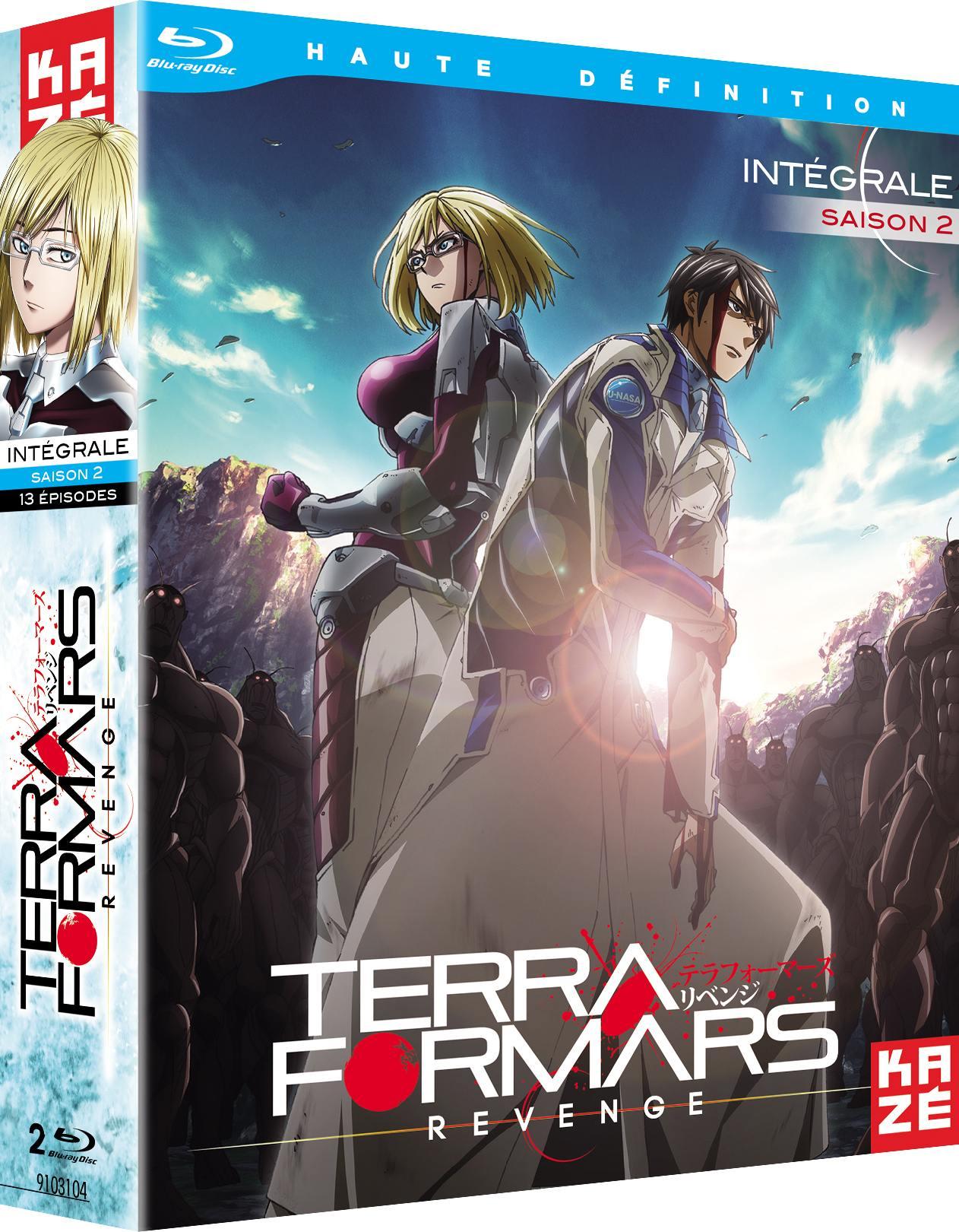 Terra formars revenge - saison 2 - 2 blu-ray