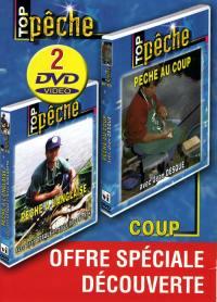 Top peche - coffret peche au coup - 2 dvd