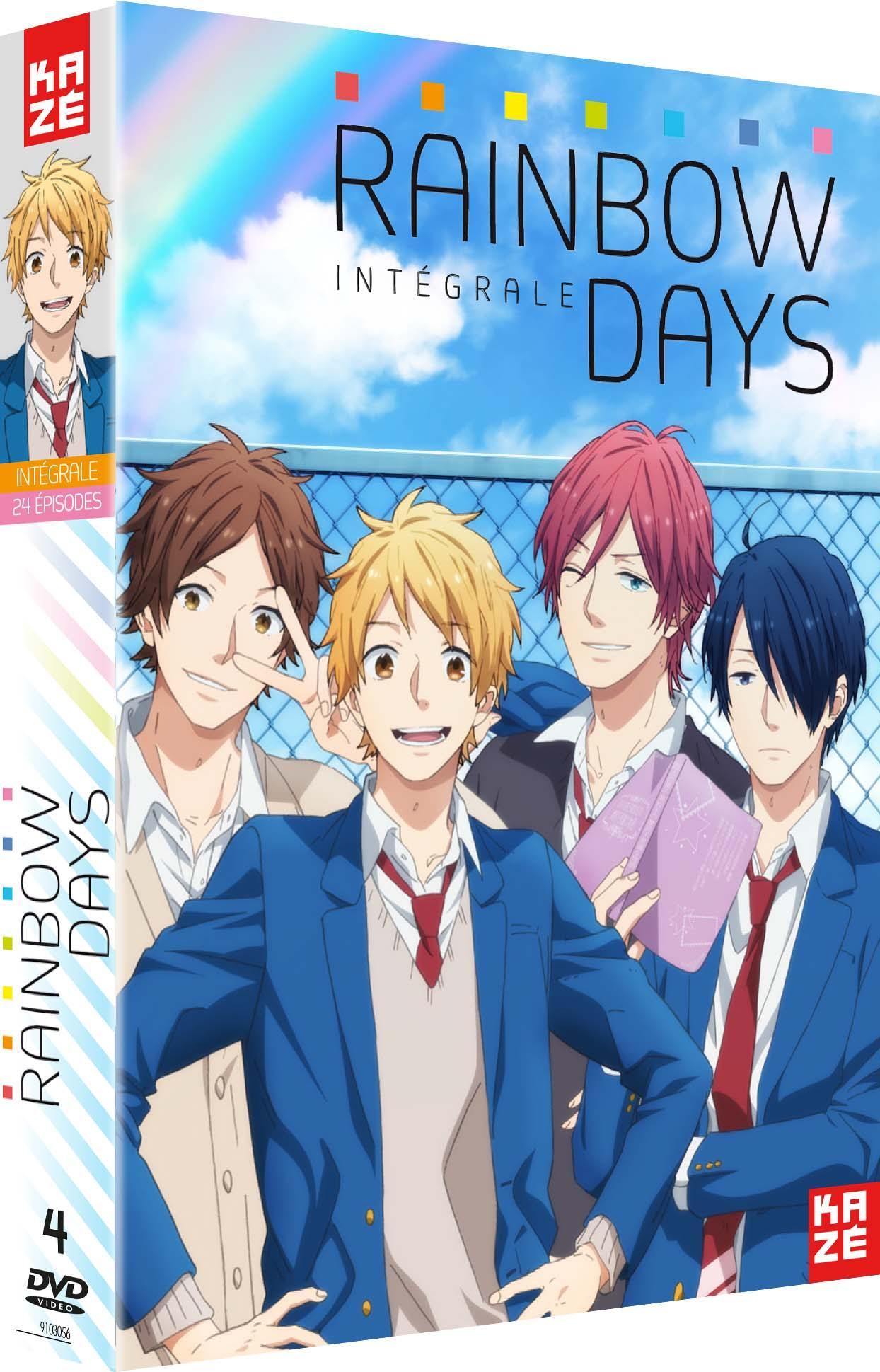 Rainbow days - integrale serie - 4 dvd
