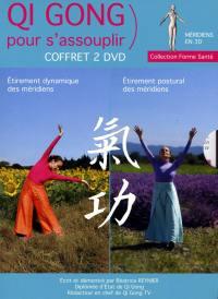 Coffret qi gong pour s'assouplir - 2 dvd