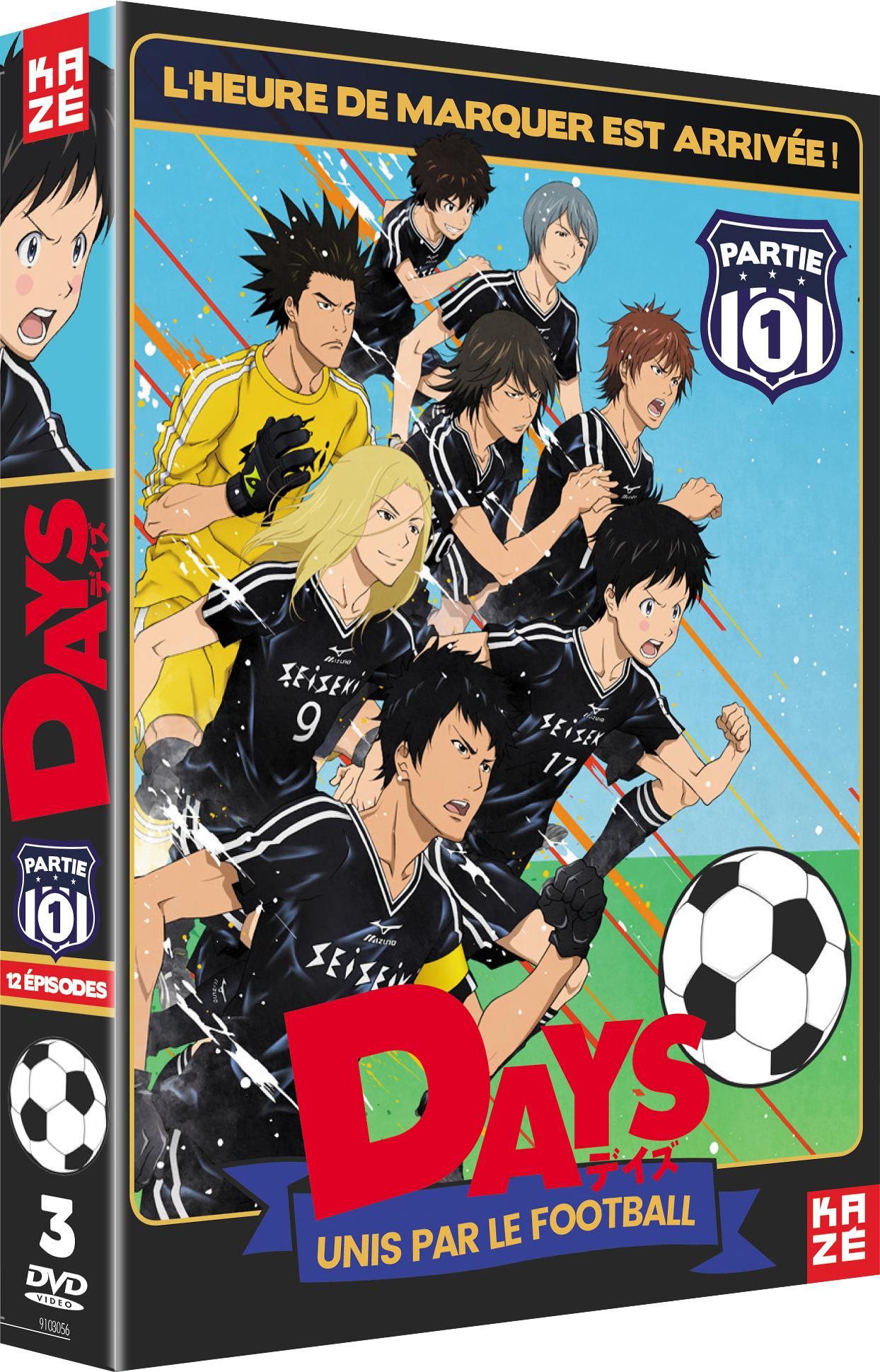 Days - saison 1 - partie 1 sur 2 - 3 dvd