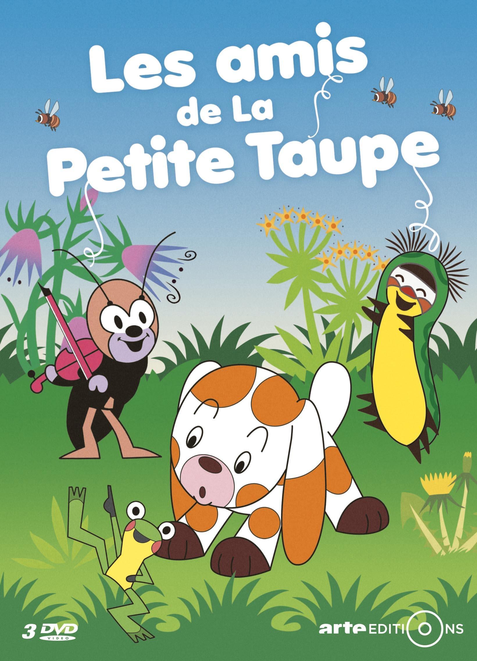 Amis de la petite taupe (les) - 3 dvd
