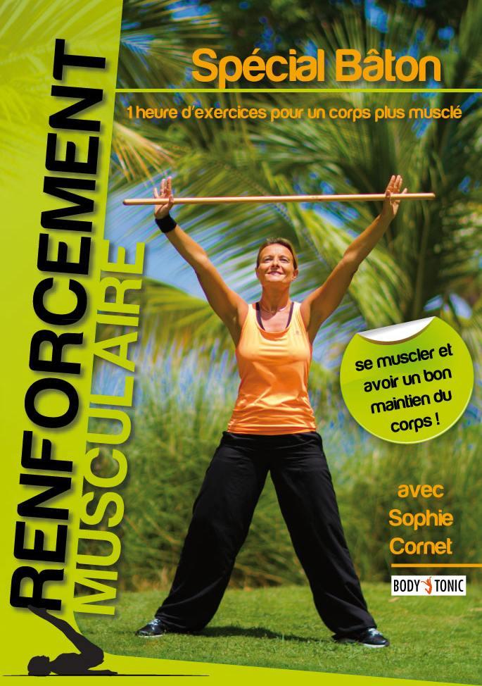 Renforcement musculaire special baton - dvd