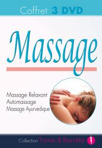 Coffret massage - 3 dvd