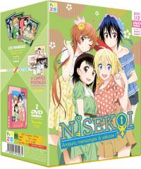 Nisekoi - saison 1 - partie 1 sur 2 - coffret collector cross - 2 dvd
