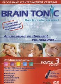 Brain tonic force 3 expert-dvd
