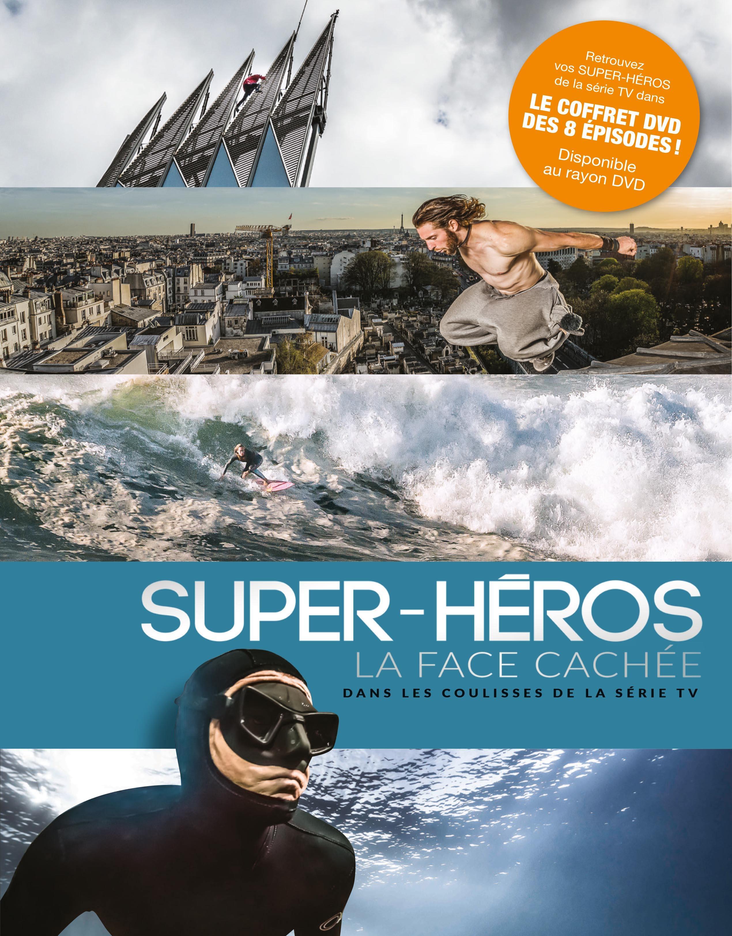 Super heros la face cachee - 8 dvd