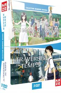 Traversee du temps + summer wars - les films - 2 dvd