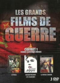 Grands films de guerre v1 - 3 dvd