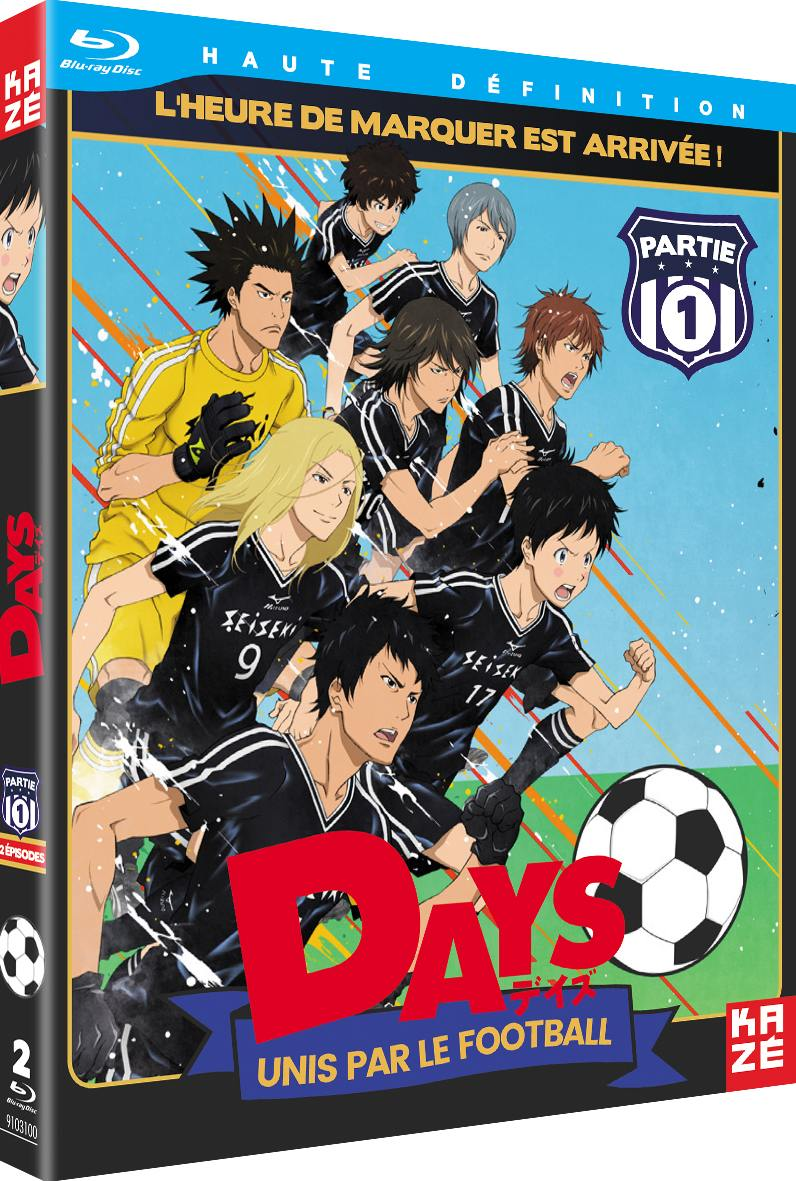 Days - saison 1 - partie 1 sur 2 - 2 blu-ray