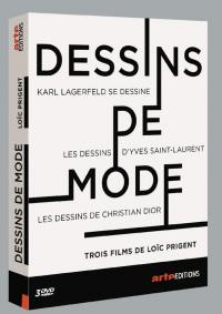Dessins de mode - 3 dvd