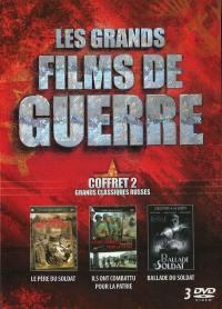 Grands films de guerre v2 - 3 dvd