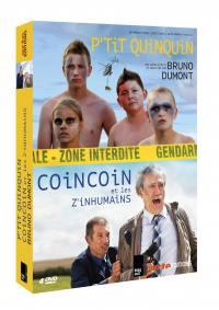 P'tit quinquin + coin coin et les z'inhumains - 4 dvd