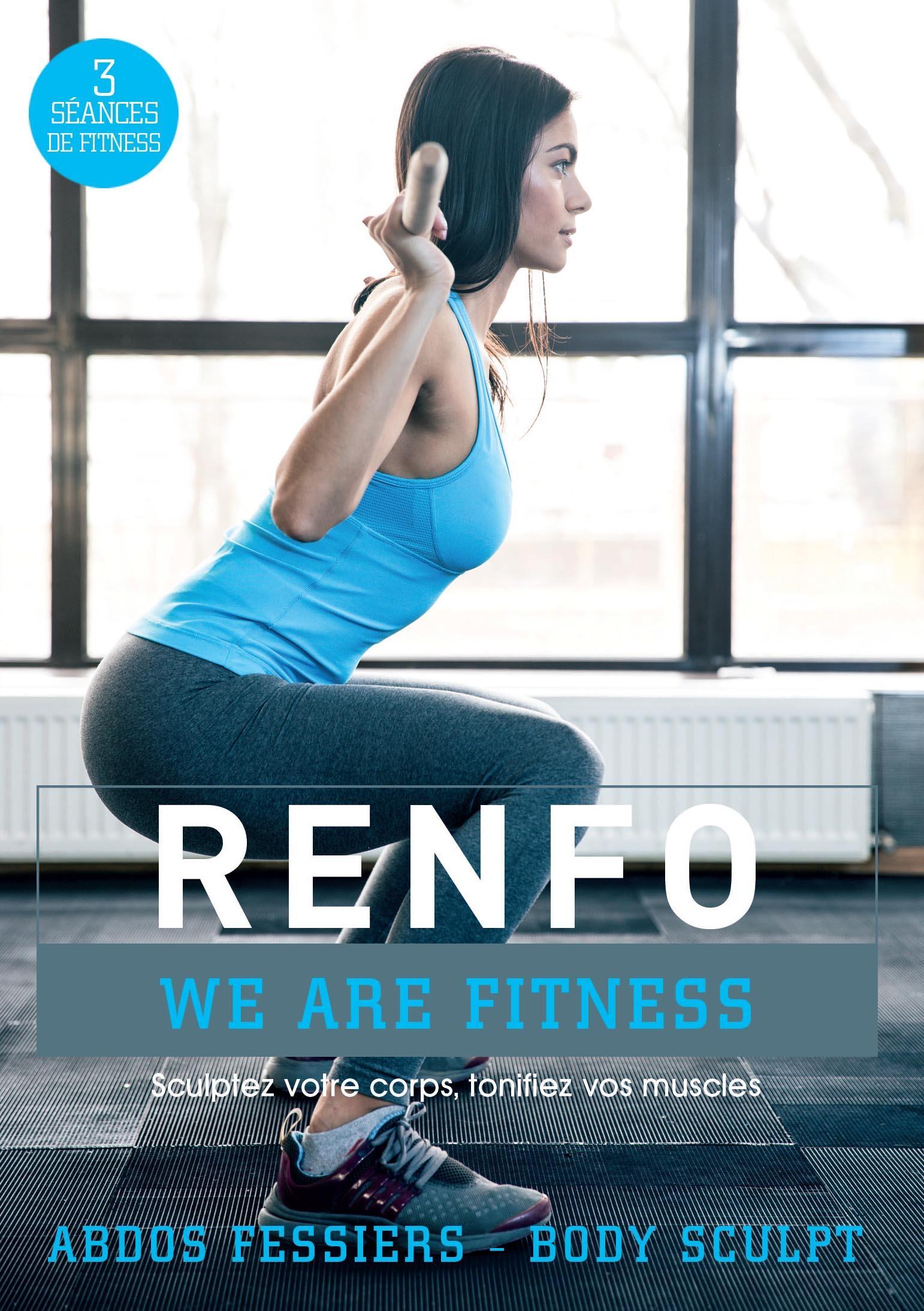 Renfo - abdos fessiers - body sculpt - core training - dvd