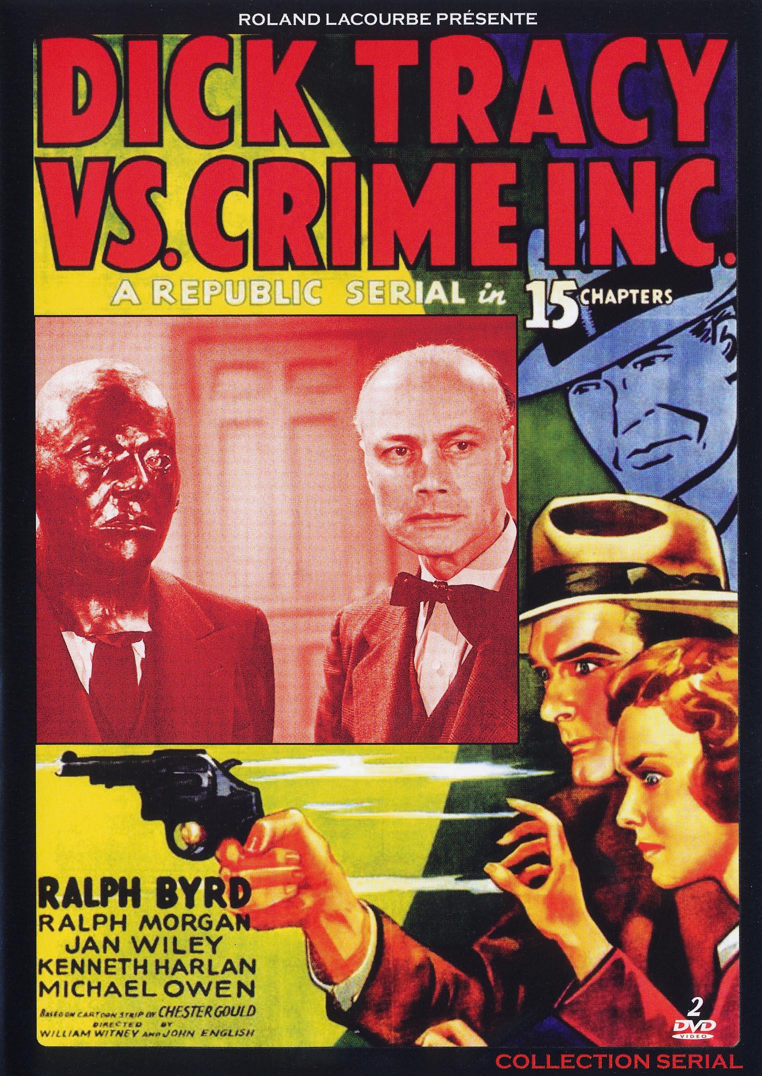 Dick tracy vs crime inc - dvd  collection serial
