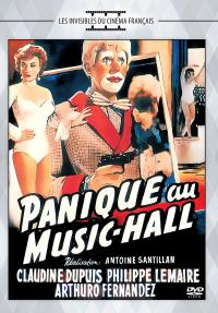 Panique au music-hall - dvd