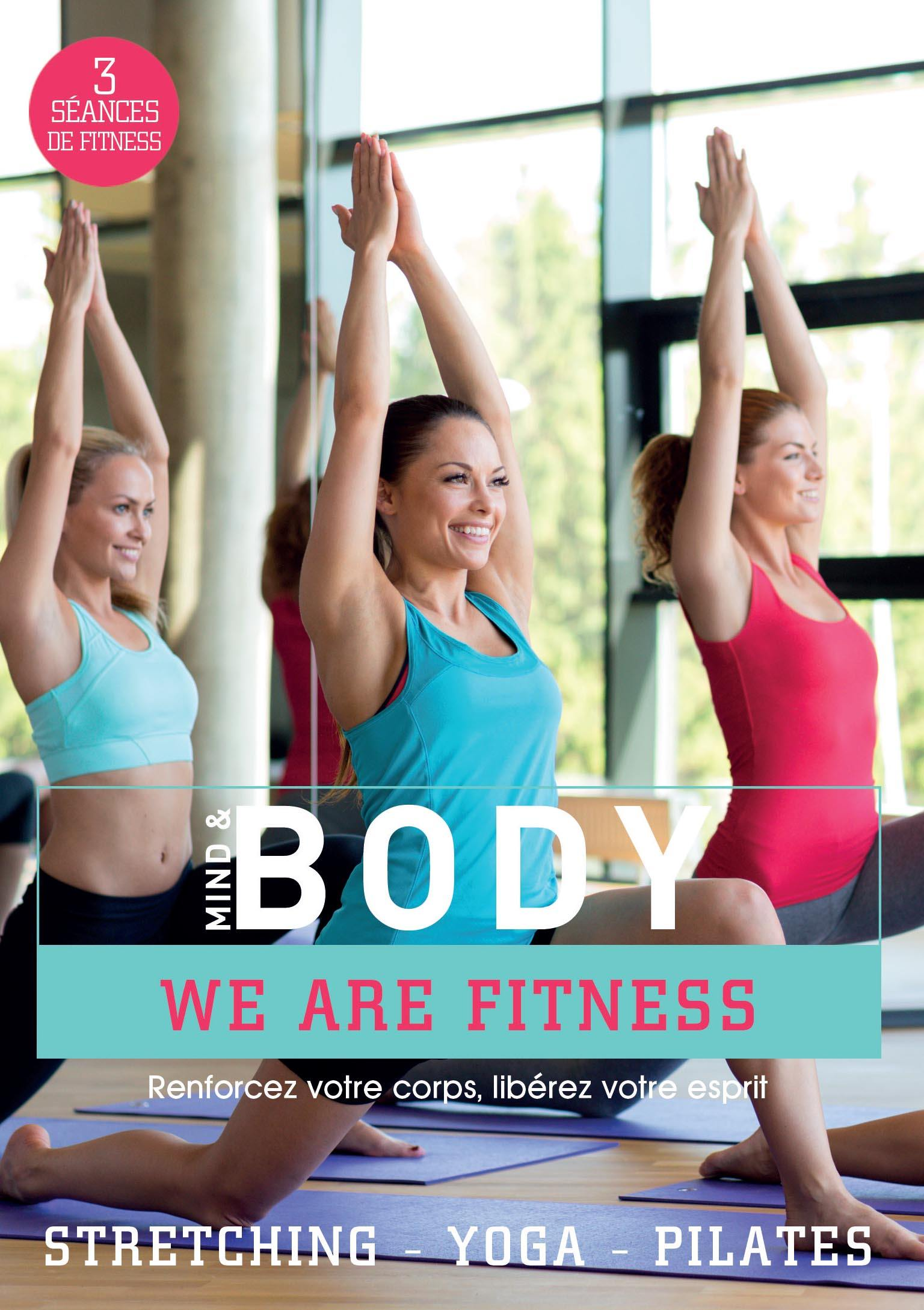 Mind and body - yoga - pilates - stretching - dvd