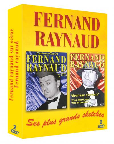 Fernand raynaud - ses plus grands sketches - 2 dvd