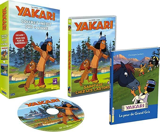 Yakari - collection livre + dvd