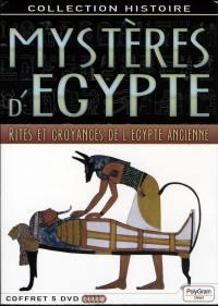 Coffret 5dvd mysteres d'egypte