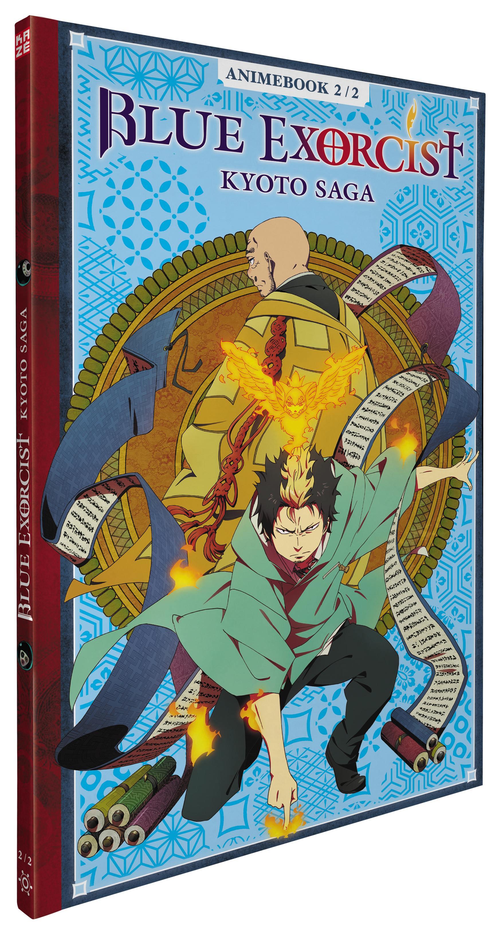 Blue exorcist kyoto saga - partie 2 sur 2 - 2 dvd