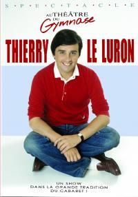 Thierry le luron au theatre du gymnase - dvd