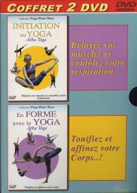 Coffret yoga - 2 dvd