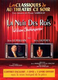 La nuit des rois - dvd + livre-classiques au theatre ce soir