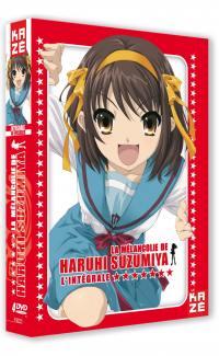 Melancolie de haruhi suzumiya (la) - saison 1 - 4 dvd
