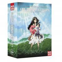 Enfants loups (les) - ame et yuki - coffret collector dvd + blu-ray