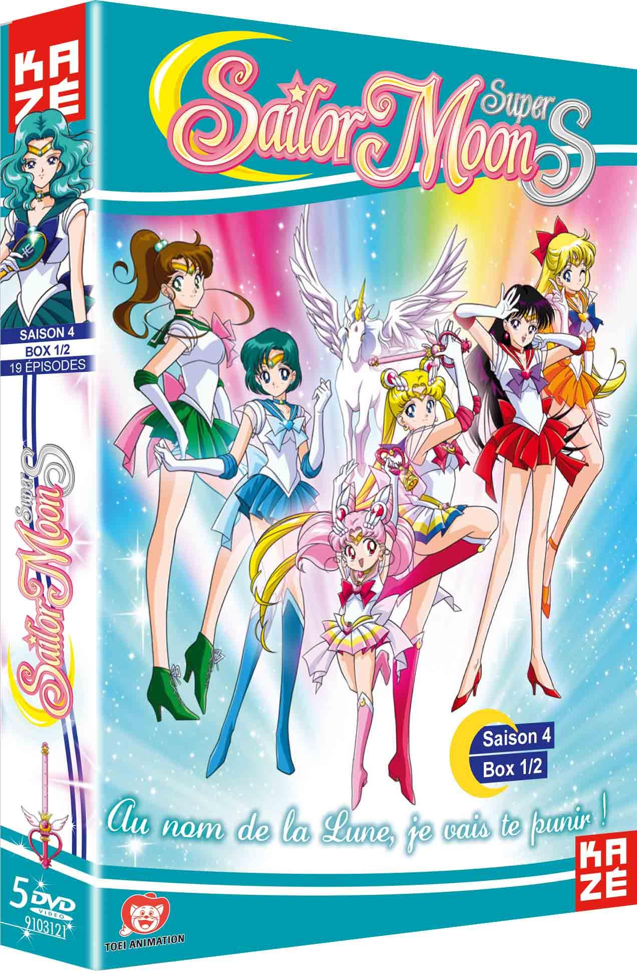 Sailor moon super s - saison 4 - partie 1 sur 2 - 5 dvd