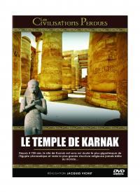 Les civilisations perdues -  le temple de karnak - dvd