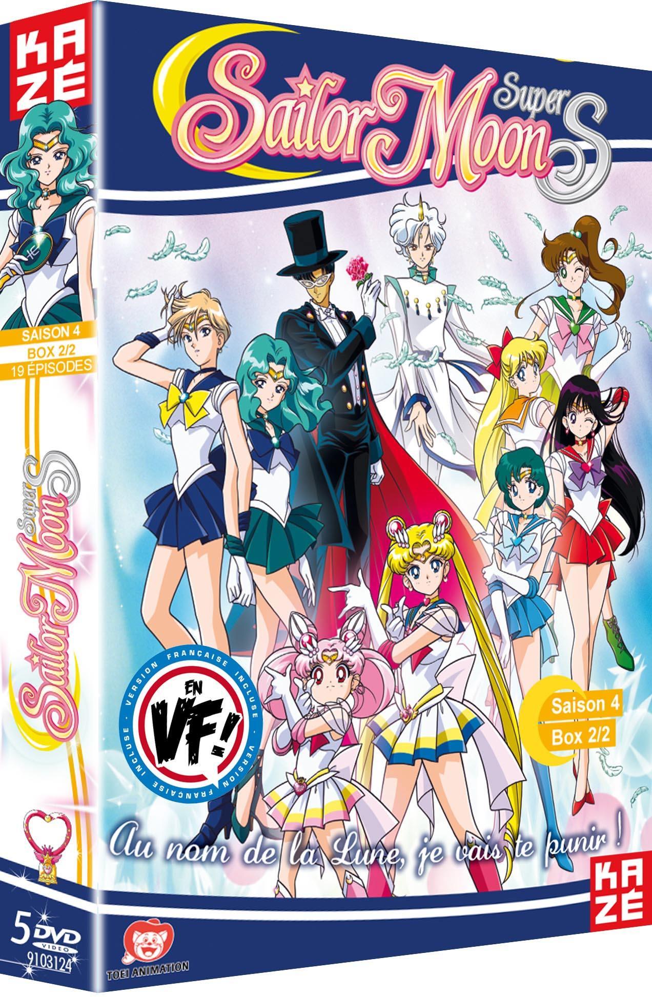 Sailor moon super s - saison 4 - partie 2 sur 2 - 5 dvd