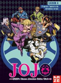 Jojo's bizarre adventure : golden wind - saison 4 - partie 1/2 - 5 dvd