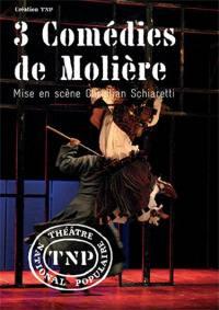 3 comedies de moliere - dvd