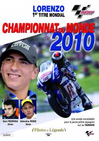 Moto gp 2010 best of - dvd  lorenzo 1er titre mondial