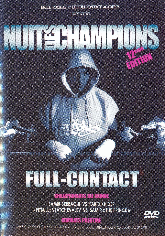 Nuit des champions - dvd  12eme edition