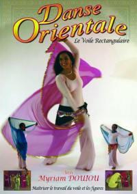 Voile rectangulaire - dvd  danse orientale