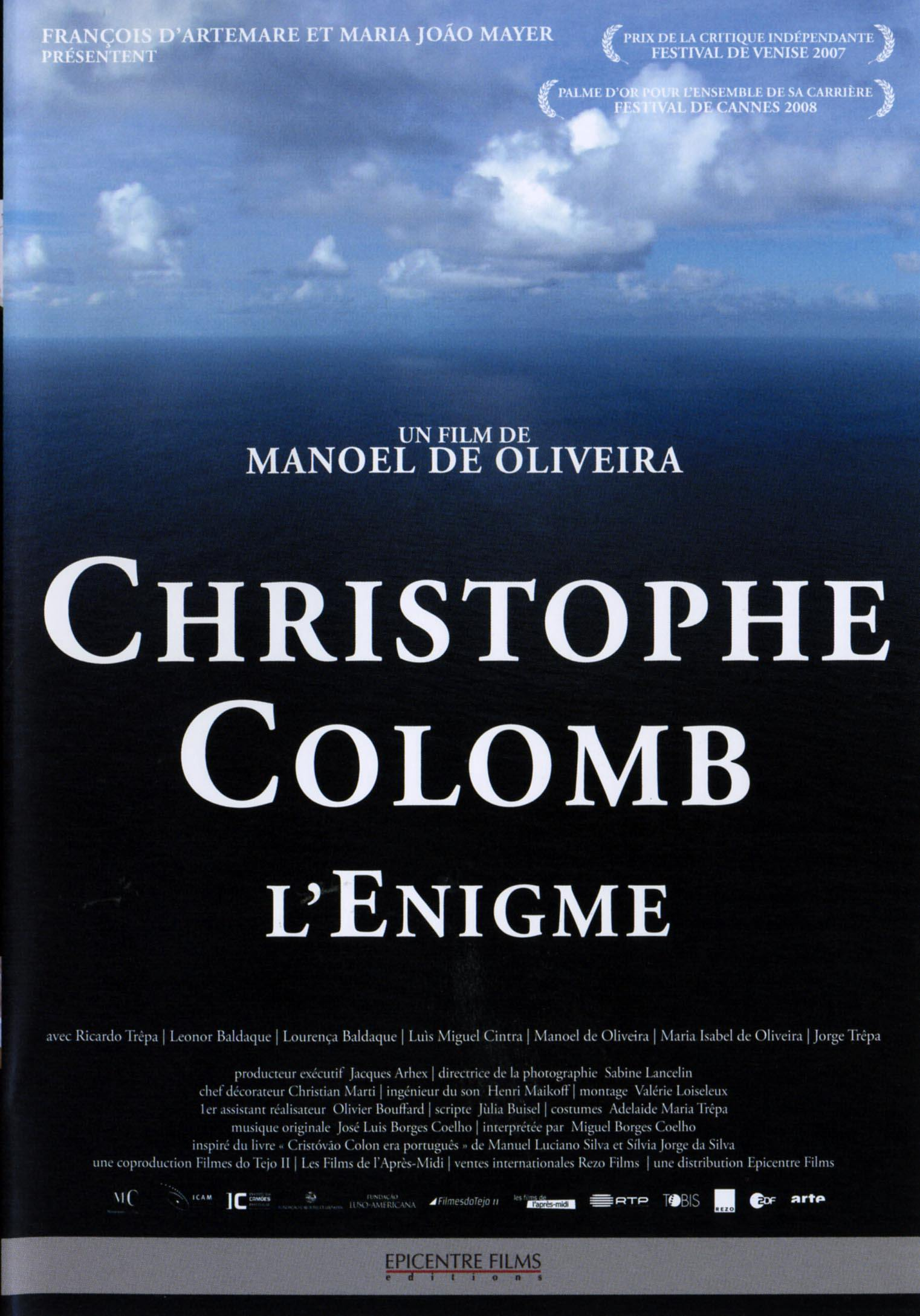 Christophe colomb - dvd  l'enigme