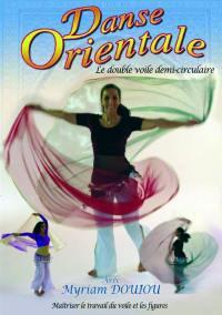 Double voile demi circulaire  dvd danse orientale