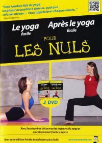 Pour les nuls - yoga  et apres le yoga - 2 dvd