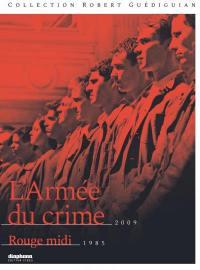 Armee du crime (l') - rouge midi - 2 dvd