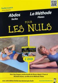 Pour les nuls - abdos - methode pilates - 2 dvd