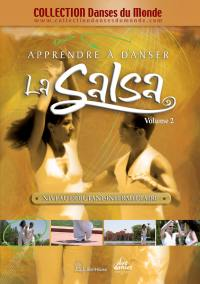 Apprendre la salsa vol 2 - dvd  niveau debutant intermediaire